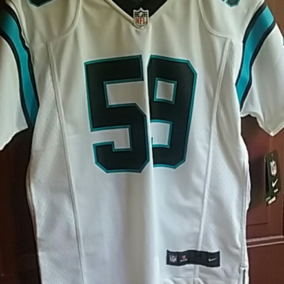 100% authentic dc232 14034 Panther jersey 59 Luke kuechly NWT